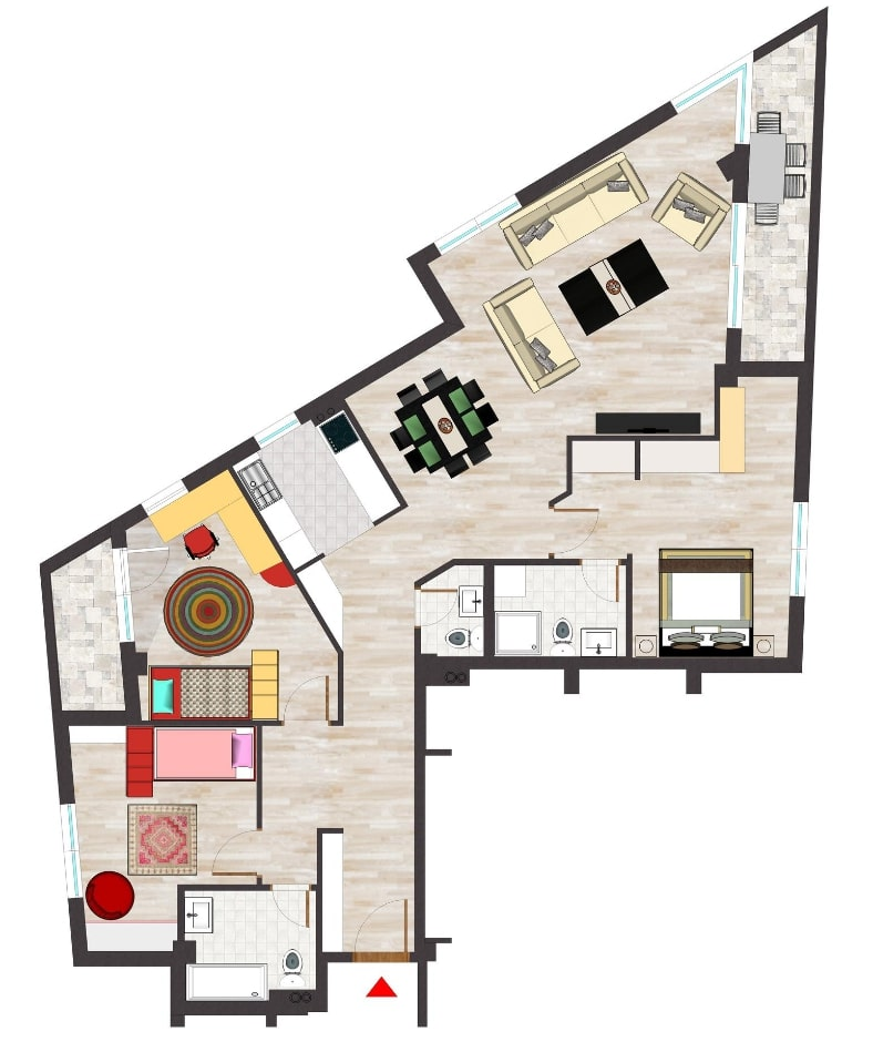 Blinds and Shutters measurements from floor plans in Camden