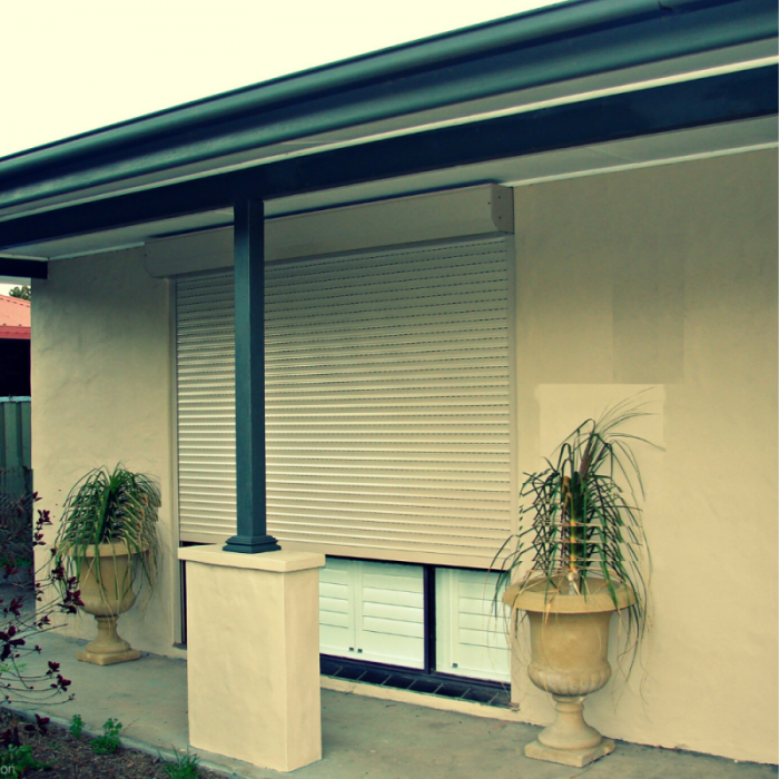 Outdoor Motorised Roller Shutters Sydney