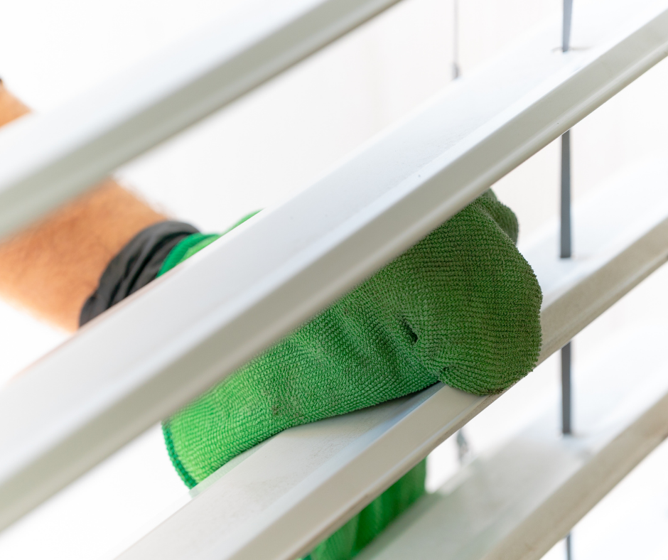 Best way to clean indoor blinds