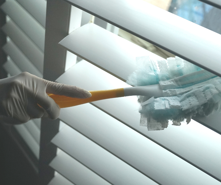 Best way to clean basswood plantation shutters