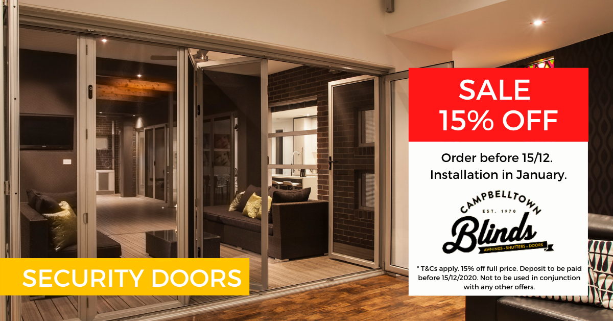 Security Doors and Screens Promotions in Sydney